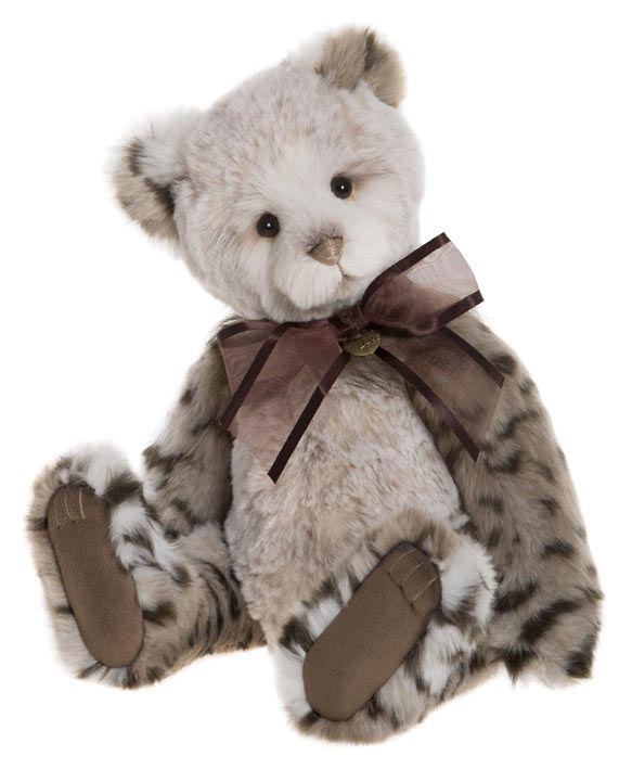 Plush Jointed Teddy Bear Cb181858a Mish Mash By Charlie Bears